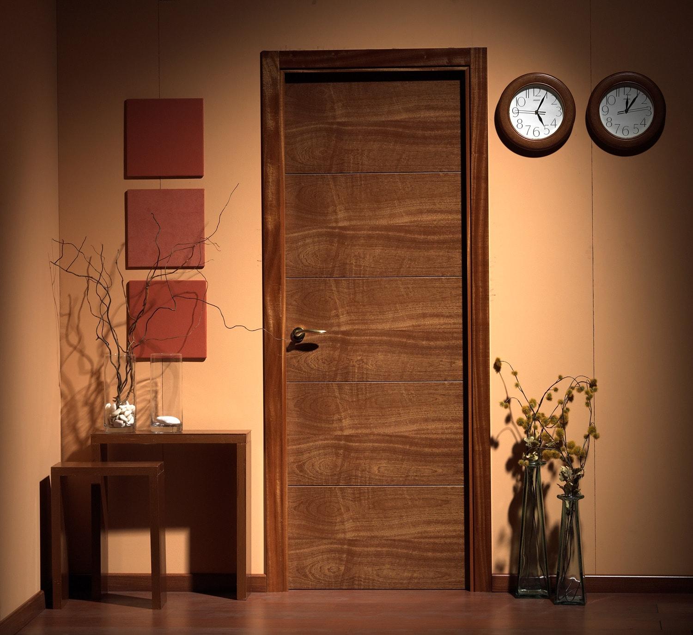 High quality veneer wood flush door manufacturer for Solid wood flush door